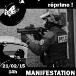 [Toulouse] Manifestation contre les violences policieres