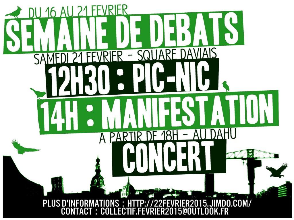Affiche Nantes (vert)